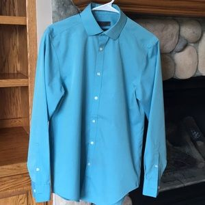 Calvin Klein Slim Fit Long Sleeve Button Down